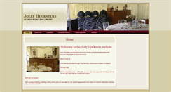 Preview of jollyhucksters.co.uk