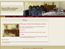 Tablet Preview of jollyhucksters.co.uk